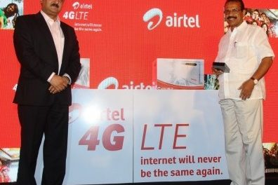 Bharti Airtel Launches 4G Services in Second Indian City – Bengaluru – For Just $3 A Month