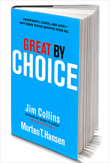 Book Review: Great by Choice: Uncertainty, Chaos. Luck – Why Some Thrive Despite Them All