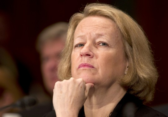 SEC Chairwoman Mary Schapiro