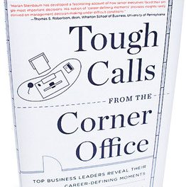 Book Review: Tough Calls From the Corner Office