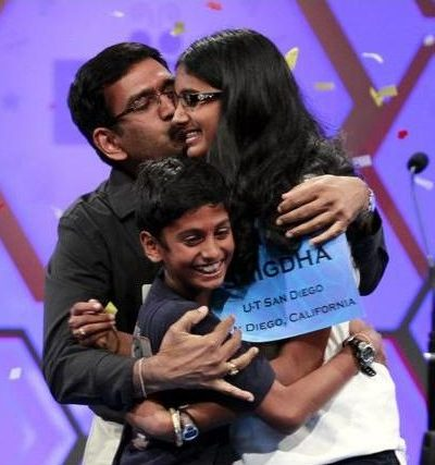 14-Year-Old Indian-American Snigdha Nandipati Wins 2012 U.S. National Spelling Bee, Becoming the 5th Desi to Become Spelling Champ