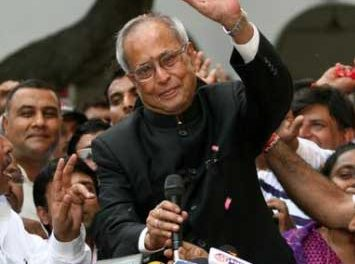Pranab Mukherjee Elected New President of India