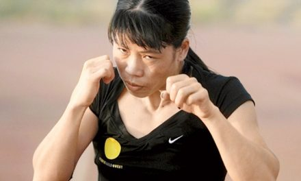 Indian Boxer Mary Kom Wins Bronze Medal
