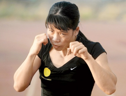 Indian Boxer Mary Kom Wins Bronze Medal in London 2012 Olympics