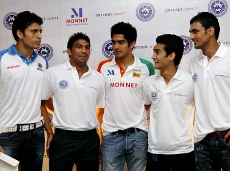 Indian boxers who qualified for London Olympics