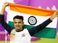 Vijay Kumar, silver medal winner for pistol shooting