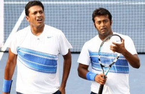 Mahesh-Bhupati and Leander Paes at London Olympics