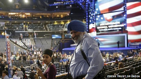 The Indian-American vote could be crucial in swing states in the upcoming US elections