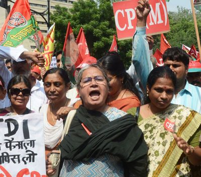 Nationwide 1-Day Strike in India Over Government's Sweeping Economic Reforms
