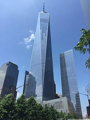 World Trade Center returns to New York skyline