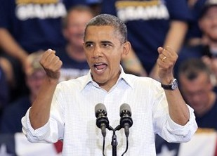 Obama's acceptance speech at 2012 Democratic National Convention will be delivered outdoors 'rain or shine,' staff says
