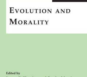 Book Review:  Evolution and Morality