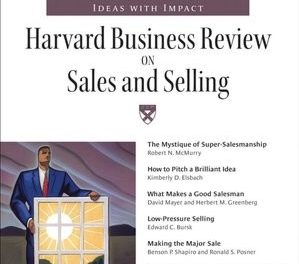 Book Review: Harvard Business Review on Sales and Selling
