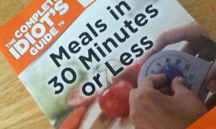 Book Review – The Complete Idiot's Guide to Meals in 30 Minutes or Less