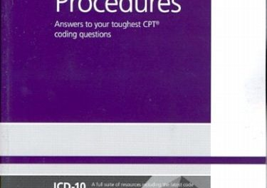 Book Review: 2013 Coders' Desk Reference for Procedures – Answers to your toughest CPT coding questions