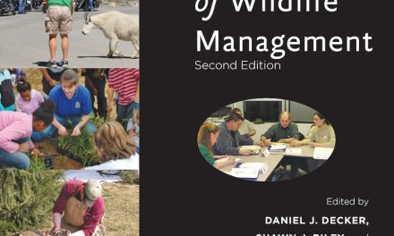 Book Review: Human Dimensions of Wildlife Management, 2nd edition