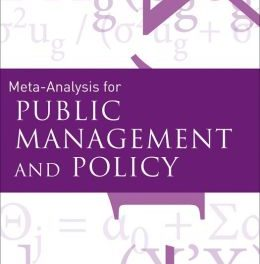 Book Review: Meta-Analysis for Public Management and Policy