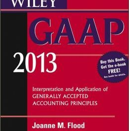 Book Review: Wiley GAAP 2013 : Interpretation and Application of Generally Accepted Accounting Principles