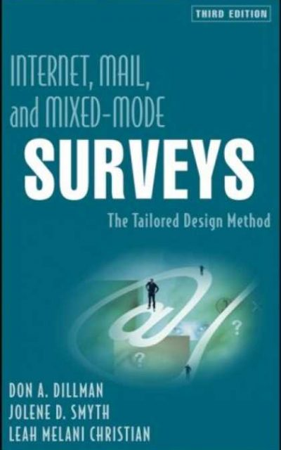 Book Review: Internet, Mail, and Mixed-Mode Surveys: The Tailored Design Method, 3rd edition