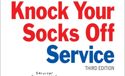 "Book Review:  Managing ""Knock Your Socks Off"" Service – 3rd edition"