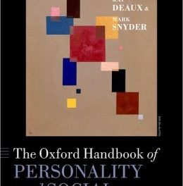 Book Review: Oxford Handbook of Personality and Social Psychology
