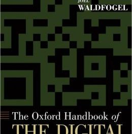 Book Review: Oxford Handbook of the Digital Economy