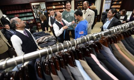 """""""Tailor-To-The-Stars"""" Presents $50,000 Worth of Overcoats, Suits, Jackets to the Doe Fund"""