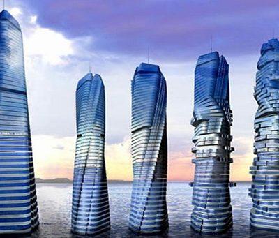 "Italian architect revives Dubai rotating  ""Dynamic Tower"" project"