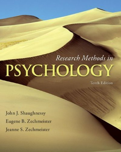 Book Review: Research Methods in Psychology, 10th edition