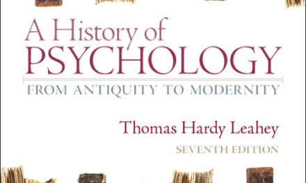 Book Review: A History of Psychology – From Antiquity to Modernity, 7th edition
