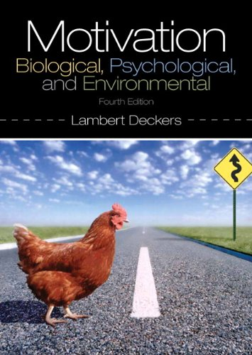 Book Review: Motivation – Biological, Psychological, and Environmental, 4th edition