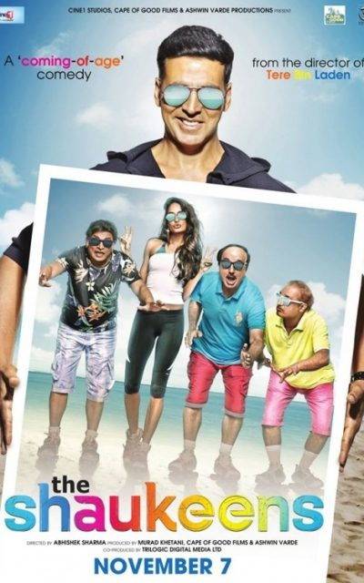 First Look At Akshay Kumar's The Shaukeens To Be Released November 7th