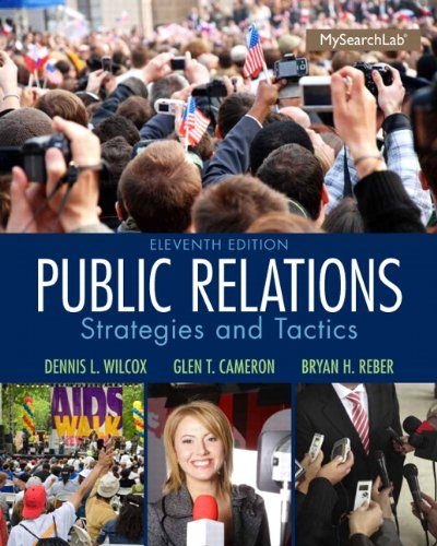Book Review: Public Relations: Strategies and Tactics, 11th edition