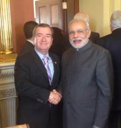 House Leaders Return to Washington To Meet with India's Prime Minister Modi