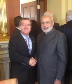 House Leaders Return to Washington To Meet with India's Prime Minister Modi