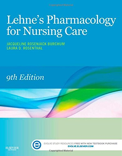 Book Review: Lehne's Pharmacology for Nursing Care, 9th edition