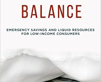 Book Review: A Fragile Balance: Emergency Savings and Liquid Resources for Low-Income Consumers