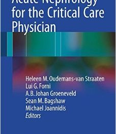 Book Review: Acute Nephrology for the Critical Care Physician