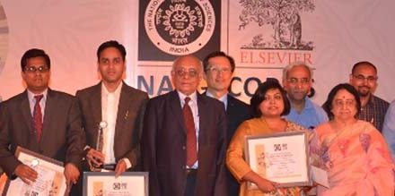Elsevier and National Academy of Sciences Present Young Scientist Awards to 10 Top Accomplished People in India