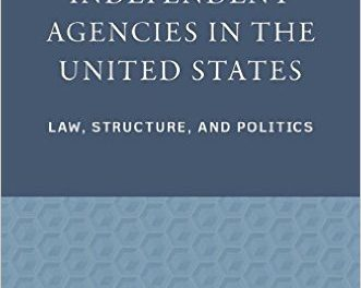 Book Review: Independent Agencies in the United States