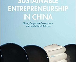 Book Review: Sustainable Entrepreneurship in China