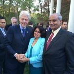 Indian Doctors Meet With Bill Clinton  To Discuss India's Health Problems