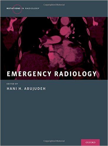 Book Review: Emergency Radiology (Rotations in Radiology), 1st edition
