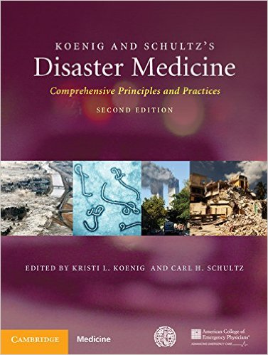 Book Review: Koenig and Schultz's Disaster Medicine, 2nd edition