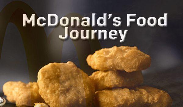McDonald's Food Journey