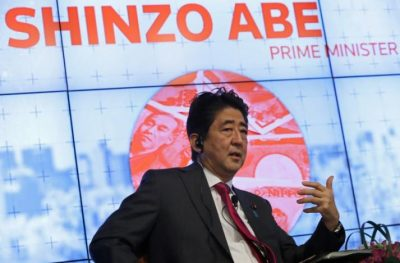 Prime Minister Abe Spells Out Continuity, More Openness, and Work-Style Changes to Boost Japan's Economy