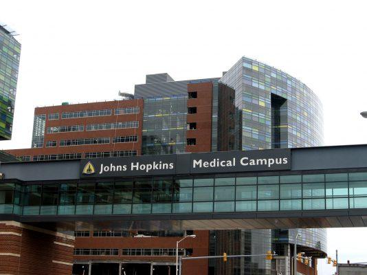 Johns Hopkins Medical Campus, credit JHM