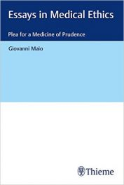 Book Review:  Essays in Medical Ethics – Plea for a Medicine of Prudence