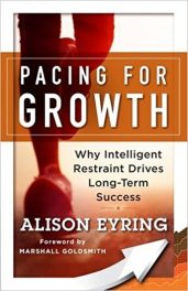 Book Review: Pacing for Growth – Why Intelligent Restraint Drives Long-Term Success