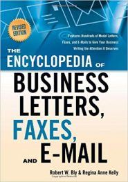 Book Review: The Encyclopedia of Business Letters, Faxes, and E-mail (Revised edition)